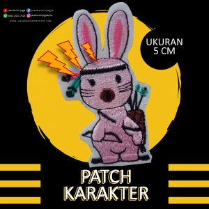 Bordir Patch Karakter