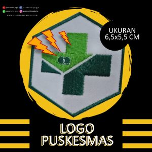 logo bordir puskesmas