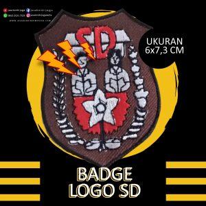 Badge Bordir SD