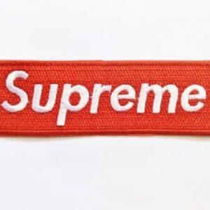 supreme 10x3 cm